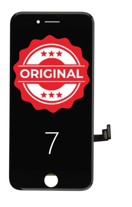 Apple REFURBISHED - Repasovaný original LCD displej iPhone 7 - čierny