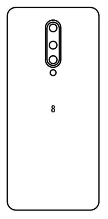 Hydrogel - matná zadná ochranná fólia - OnePlus 8