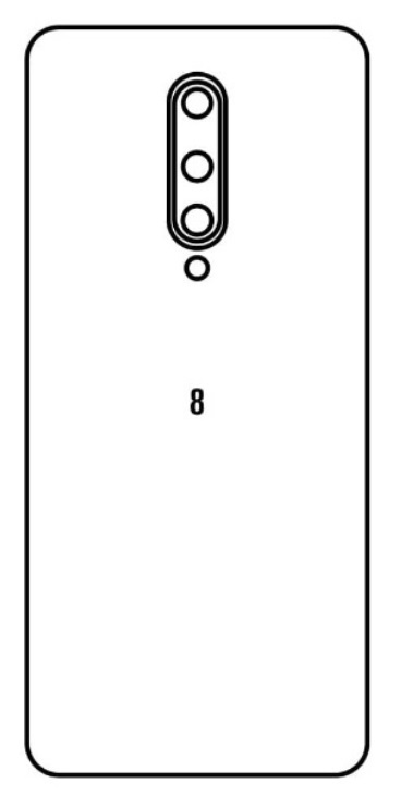 Hydrogel - zadná ochranná fólia - OnePlus 8