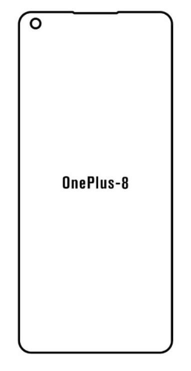 Hydrogel - matná ochranná fólia - OnePlus 8
