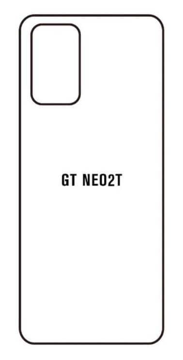Hydrogel - matná zadná ochranná fólia - Realme GT Neo2T