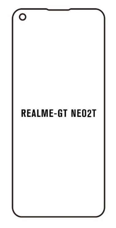 Hydrogel - matná ochranná fólia - Realme GT Neo2T