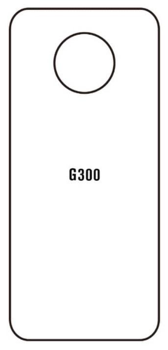Hydrogel - matná zadná ochranná fólia - Nokia G300