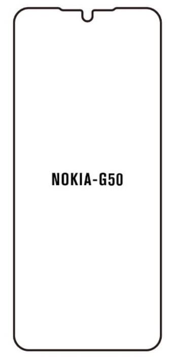 Hydrogel - matná ochranná fólia - Nokia G50