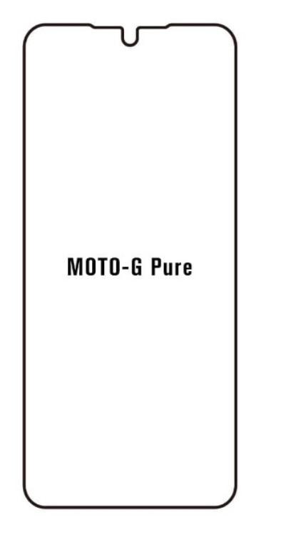 Hydrogel - matná ochranná fólia - Motorola G Pure