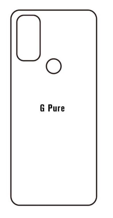 Hydrogel - matná zadná ochranná fólia - Motorola G Pure