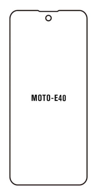Hydrogel - matná ochranná fólia - Motorola Moto E40