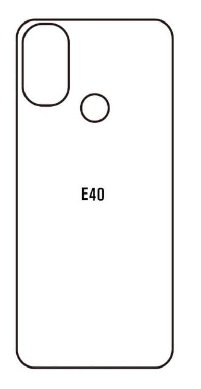 Hydrogel - zadná ochranná fólia - Motorola Moto E40