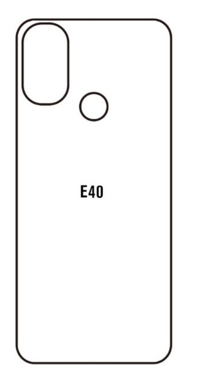 Hydrogel - matná zadná ochranná fólia - Motorola Moto E40