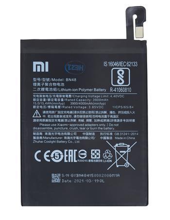 OEM Batéria pre Xiaomi Redmi Note 6 Pro (BN48) 4000 mAh Li-Ion