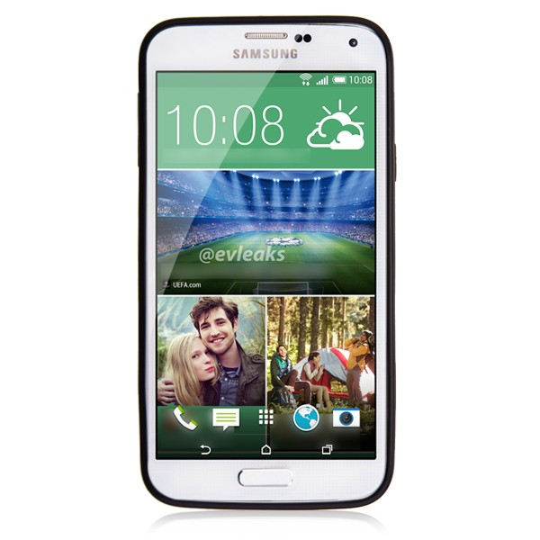 Matte Black Hard Back Samsung Galaxy S5