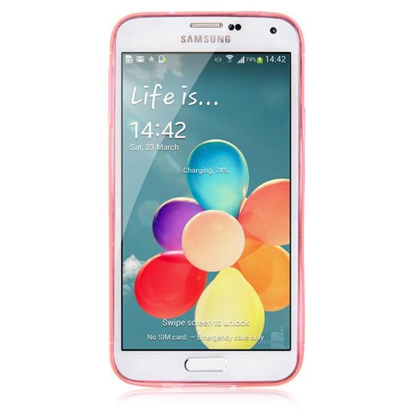 Matt Solid TPU Pink Samsung Galaxy S5