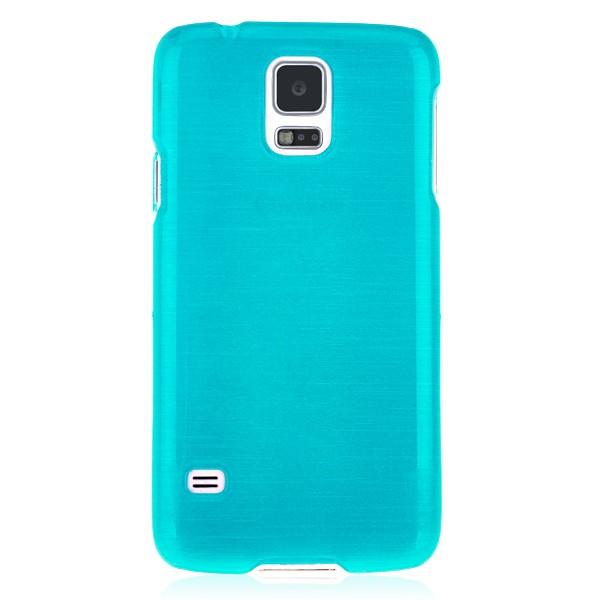Plastic hard case blue Samsung Galaxy S5