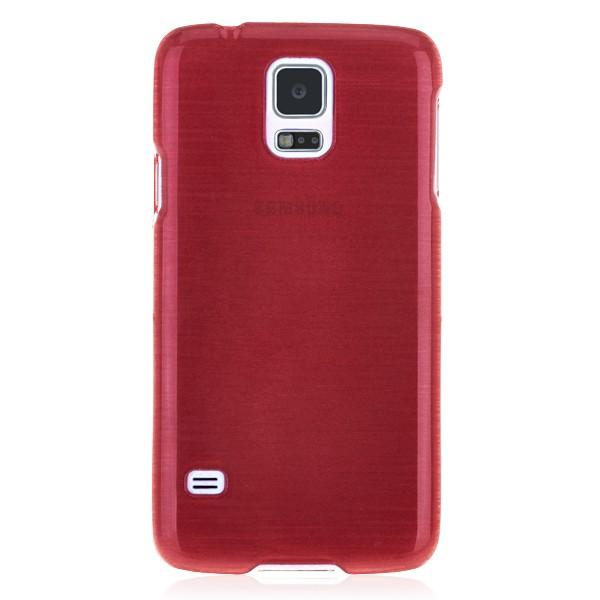 Plastic hard case red Samsung Galaxy S5
