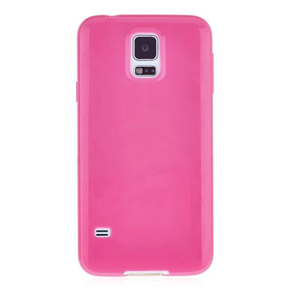 Silicone case pink Samsung Galaxy S5