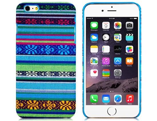 Ethnic Plastic Case iPhone 6 Plus/6S Plus (Blue)