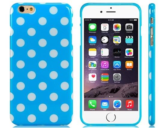 Blue Dot Silicone iPhone 6 Plus/6S Plus