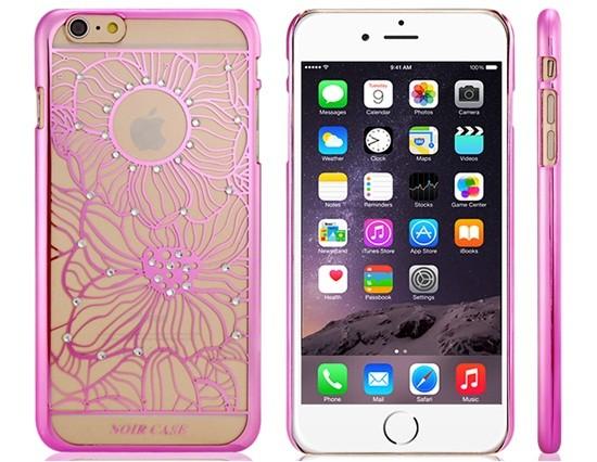 Decorated Plastic Case iPhone 6 Plus/6S Plus (Pink)