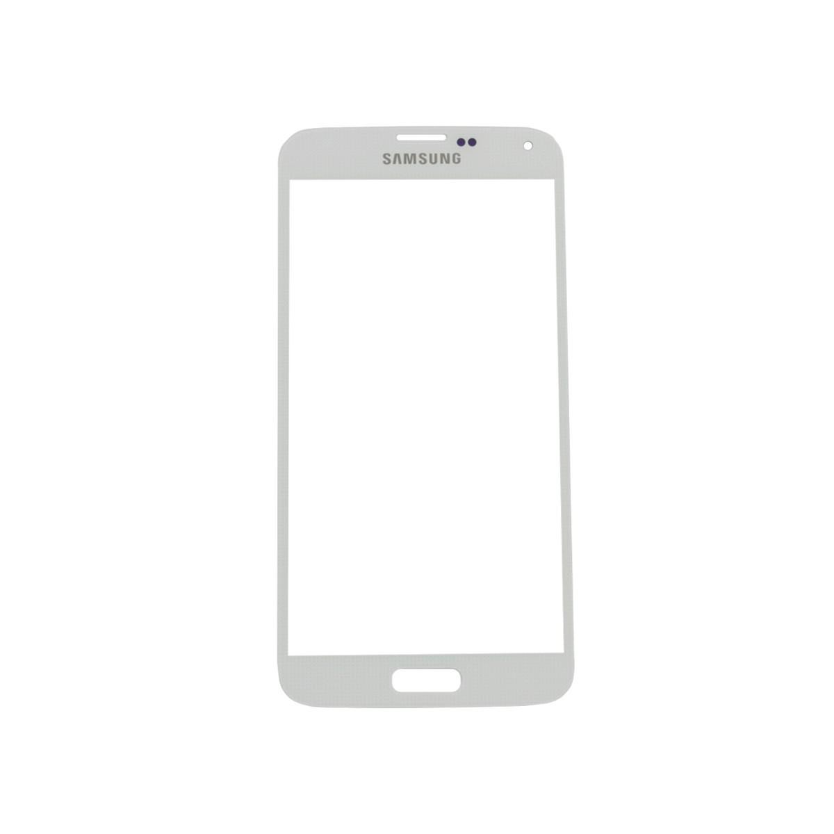 Predné dotykové sklo Samsung Galaxy S5 biele