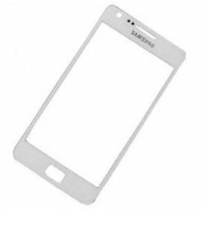 Predné dotykové sklo Samsung Galaxy S2 biele
