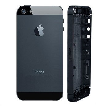 Apple iPhone 5 zadný kryt - čierny