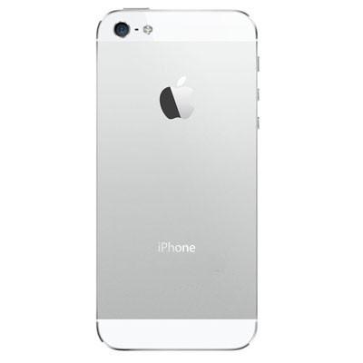 Apple iPhone 5S - Zadný kryt - strieborný