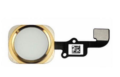 Apple iPhone 6, iPhone 6 Plus - Home button + home button flex (zlatý)