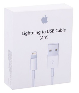 2m USB dátový kábel Apple iPhone Lightning MD819ZM/A ORIGINAL (EU Blister - Apple package box)