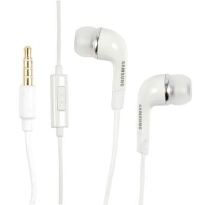 Samsung EHS64 stereo handsfree slúchadlá 3,5 mm jack White