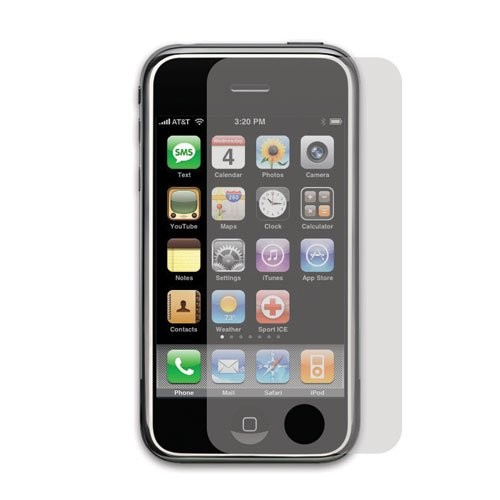 Anti-Glare Screen Protector - iPhone 3G/3GS