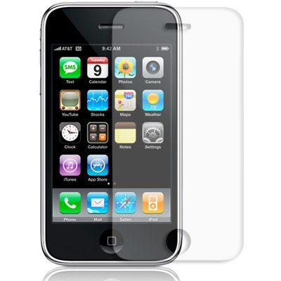 Clear Screen protector - iPhone 3G/3GS