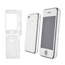iCoverCarbon iPhone 4/4S - biela