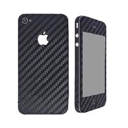 iCoverCarbon iPhone 4/4S - čierna