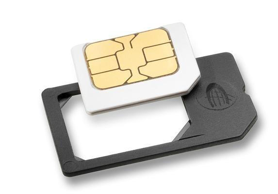 Redukcia z Micro SIM na štandardnú SIM kartu