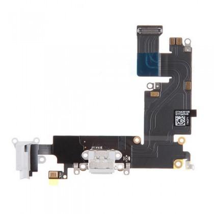 Apple iPhone 6 Plus - Nabíjací dock konektor - audio konektor kábel s mikrofónom biely (White)