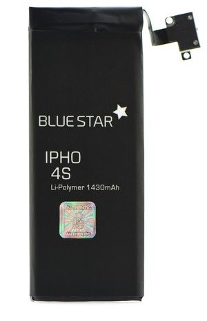 Batéria Apple iPhone 4S 1430 mAh Polymer Blue Star PREMIUM