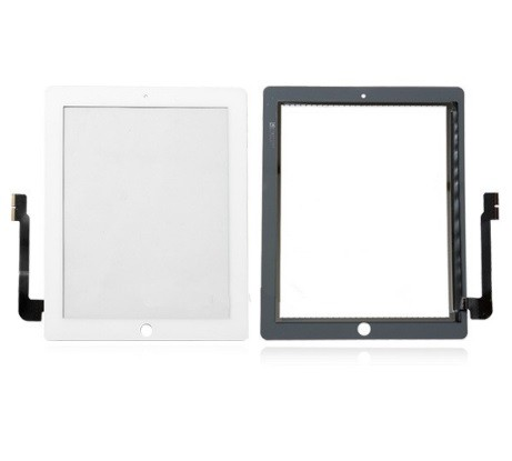 Apple iPad 4 - dotyková plocha, sklo (digitizér) originál - biela