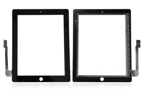 Apple iPad 3 - dotyková plocha, sklo (digitizér) originál - čierna