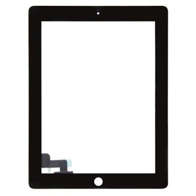 Apple iPad 2 - dotyková plocha, sklo (digitizér) originál - čierna