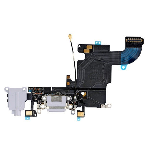 Apple iPhone 6S - Nabíjací konektor s mikrofónom/Charging Port Flex Cable Silver