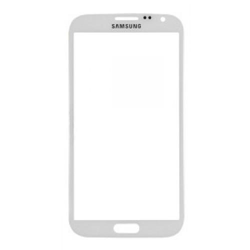 Predné dotykové sklo Samsung Galaxy Note 4 - biele