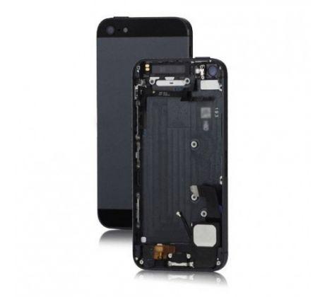 Akcia Doprava zadarmo Apple iPhone 5 zadný kryt - čierny s malými dielmi 9aa33539091