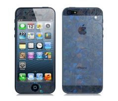 3D Blue and White Porcelain Screen protector na iPhone 5/5S/SE