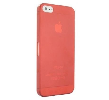 Case UltraSlim 0.3mm iPhone 5/5S/SE červený