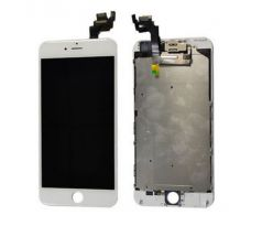 ORIGINAL Biely LCD displej iPhone 6 Plus s prednou kamerou + proximity senzor OEM (bez home button)
