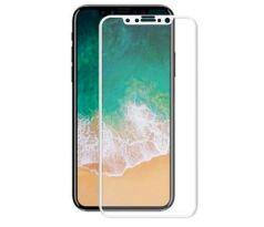 Akcia 5D FULL GLUE biele ochranné tvrdené sklo Apple iPhone Xs Max a2a115873f8