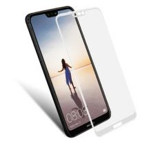 FULL GLUE 3D glass Huawei P20 Pro White