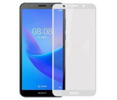 FULL GLUE 3D glass Huawei Y6 2018 White