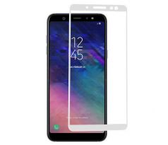 FULL GLUE 3D glass Samsung Galaxy A6 2018 white