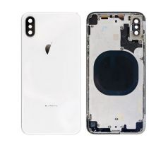 Apple iPhone XS - Zadný Housing - biely